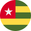 Togo, flags, Country, Nation, world, flag SandyBrown icon