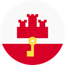 flag, Gibraltar, flags, Region, world GhostWhite icon