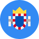 world, flag, flags, Region, Melilla DodgerBlue icon