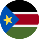 Nation, South Sudan, world, flag, flags, Country DarkOliveGreen icon