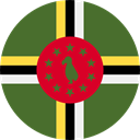 world, flag, Dominica, flags, Country, Nation DarkOliveGreen icon