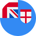 world, flag, Fiji, flags, Country, Nation DodgerBlue icon