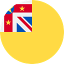 world, flag, flags, niue, Country, Nation SandyBrown icon