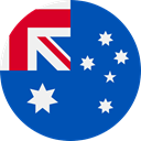 world, flag, Australia, flags, Country, Nation Teal icon