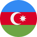 world, flag, Azerbaijan, flags, Country, Nation Crimson icon