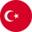 world, flag, turkey, flags, Country, Nation Crimson icon