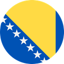 Country, Nation, Bosnia And Herzegovina, world, flag, flags SandyBrown icon