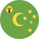 world, flag, flags, Country, Nation, Cocos Island OliveDrab icon