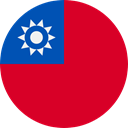 world, flag, Taiwan, flags, Country, Nation Crimson icon