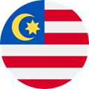 world, flag, malaysia, flags, Country, Nation WhiteSmoke icon