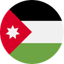 world, flag, Jordan, flags, Country, Nation WhiteSmoke icon