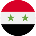Syria, flags, Country, Nation, world, flag WhiteSmoke icon