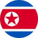 world, flag, flags, Country, Nation, North Korea Crimson icon