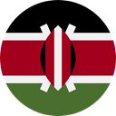 kenya, world, flag, flags, Country, Nation DarkRed icon