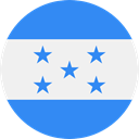 world, flag, Honduras, flags, Country, Nation DodgerBlue icon