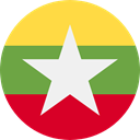 world, flag, myanmar, flags, Country, Nation OliveDrab icon
