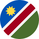 world, flag, Namibia, flags, Country, Nation DarkOliveGreen icon