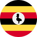 world, flag, Uganda, flags, Country, Nation SandyBrown icon