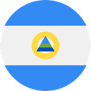world, flag, Nicaragua, flags, Country, Nation DodgerBlue icon