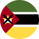 world, flag, Mozambique, flags, Country, Nation SandyBrown icon