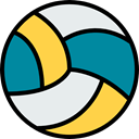 team, equipment, sports, volleyball, Sport Team, Sports And Competition DarkCyan icon