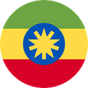 Ethiopia, flags, Country, Nation, world, flag Icon