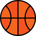 Basketball, team, equipment, sports, Sport Team, Sports And Competition Chocolate icon