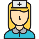 Medical Icons, Illness, Medical Assistance, people, medical, hospital, Nurse Black icon