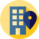 Block, real estate, residential, flat, Architecture And City, Building, buildings, Apartment, Apartments Khaki icon