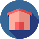 internet, Home, house, Page, interface, buildings, real estate SteelBlue icon