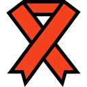 support, medical, Ribbon, cause, Solidarity Icon