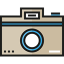 picture, interface, digital, technology, electronics, photograph, photo camera Black icon