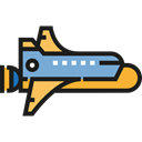 transportation, transport, Space Ship, Rocket Ship, Rocket Launch, Spacecrafts, Business, Rocket Black icon