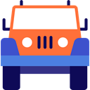 Car, transportation, transport, vehicle, jeep, Automobile Tomato icon
