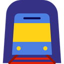 transportation, transport, vehicle, underground, Automobile, Public transport DarkSlateBlue icon