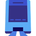 Public transport, Monorail, Car, transportation, transport, vehicle DarkSlateBlue icon