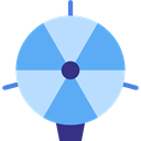 Gas, transport, Hydrogen, Aircraft, zeppelin, Aerostatic, Dirigible CornflowerBlue icon
