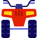 transportation, transport, Bike, Motorbike, Motorcycle, quad MidnightBlue icon