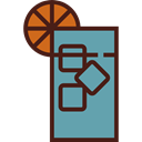 food, glass, soda, entertainment, drinks, straw, Refreshment, Food And Restaurant CadetBlue icon