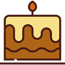 birthday, cake, food, Candles, Bakery, Birthday Cake, Cakes, Food And Restaurant Sienna icon