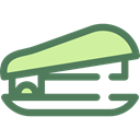 Office Material, education, stapler, Tools And Utensils, School Material DimGray icon