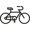 sport, transportation, Bicycle, cycling, exercise, transport, vehicle, sports, Bike Black icon