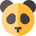 zoo, Animals, Wild Life, Animal Kingdom, panda Goldenrod icon