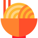 Bowl, chinese, sticks, noodles, Chinese Food, Food And Restaurant, food Coral icon