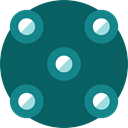 Multimedia, digital, technology, electronic, virtual reality, Ar Camera Teal icon