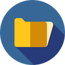 Folder, interface, storage, file storage, Data Storage, Office Material, Files And Folders SteelBlue icon