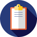 Clipboard, list, Verification, Tools And Utensils, miscellaneous, Tasks, checking DarkSlateBlue icon