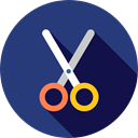 Cut, scissors, miscellaneous, Cutting, Tools And Utensils, Edit Tools, Handcraft, Construction And Tools DarkSlateBlue icon
