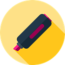write, tool, marker, education, writing, Markers, Educational Icons, Edit Tools, Educational Khaki icon