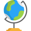 planet, Geography, Earth Grid, Maps And Location, Maps And Flags, Planet Earth, Earth Globe DodgerBlue icon